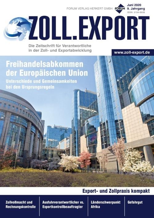 Ausgabe Juni 2020<br>Freihandelsabkommen