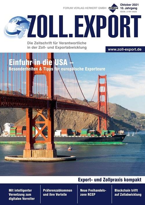 Cover der Oktober-Ausgabe 2021